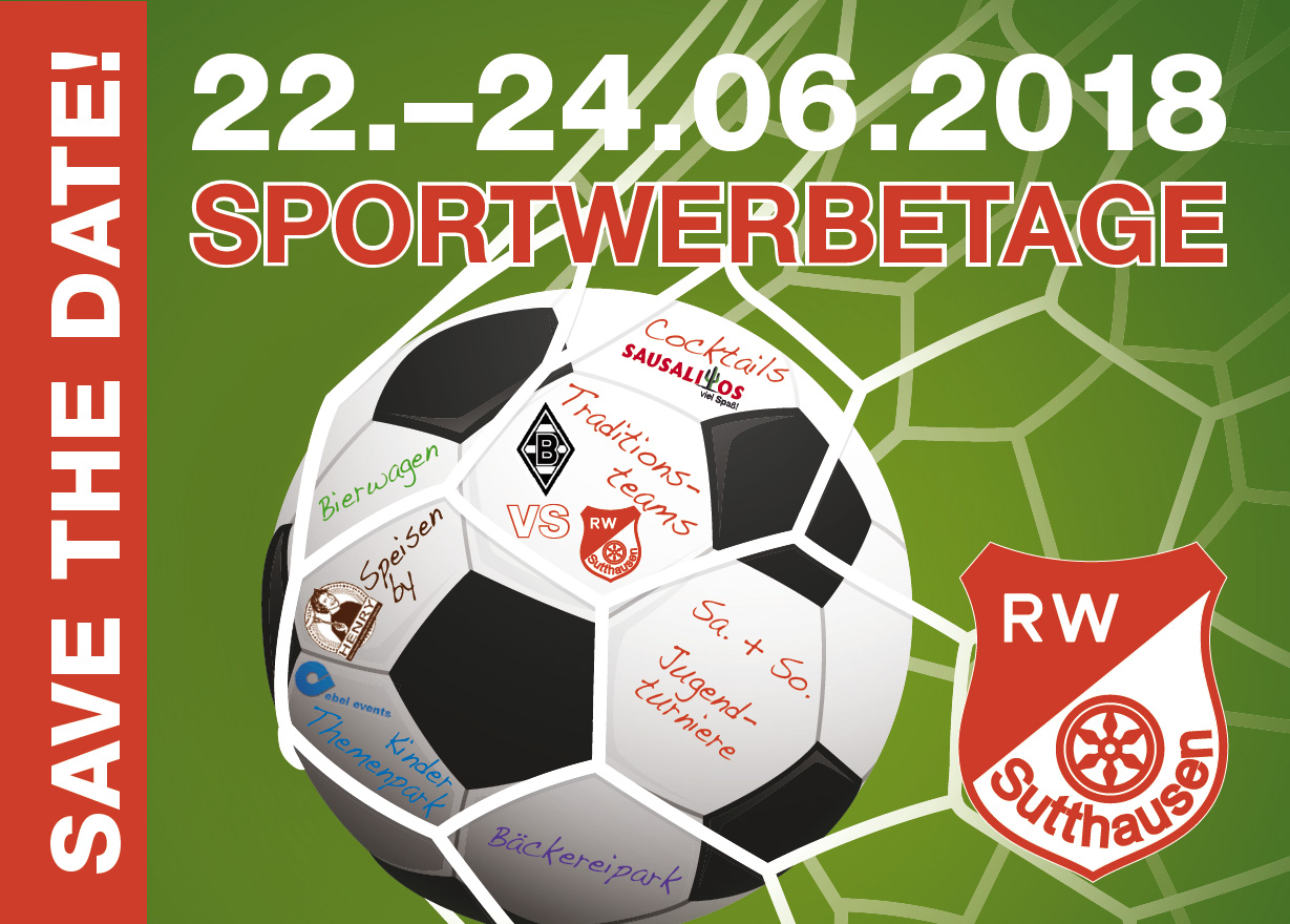 Sportwerbetage 2018 Save the date